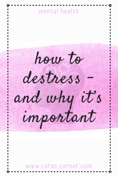 how to reduce stress and why it's important