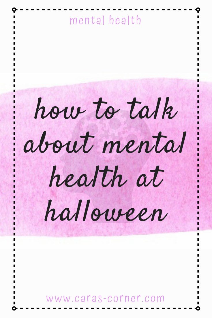 Talking about mental health at halloween
