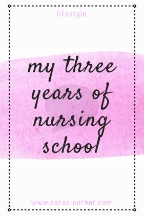 Studying nursing at university