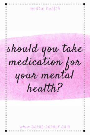 medication and mental illness