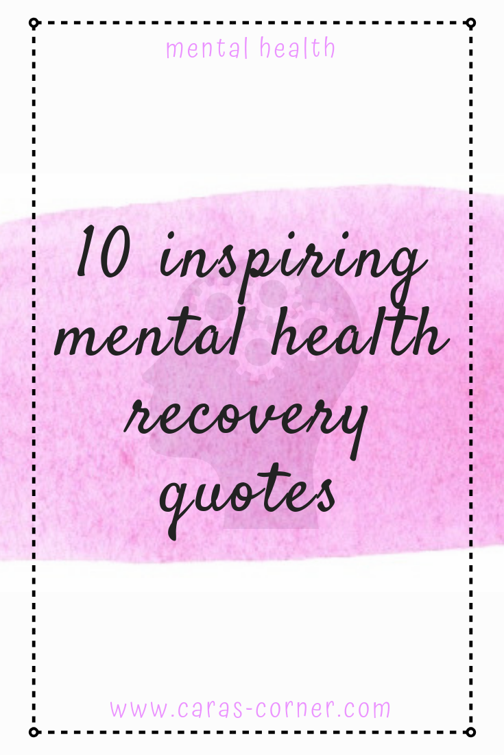 10 inspiring mental health recovery quotes
