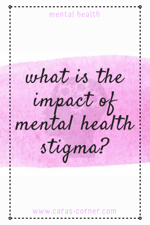 What is the impact of mental health stigma?