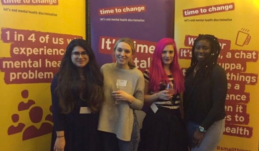 volunteers for Time To Change