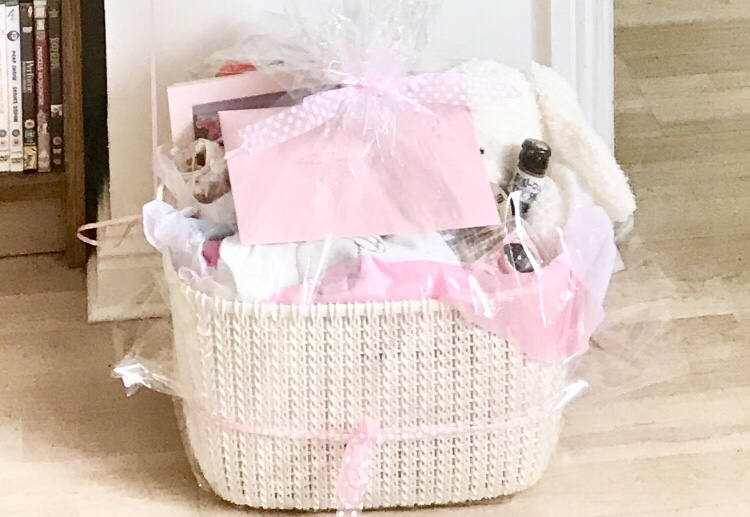 homemade baby hamper