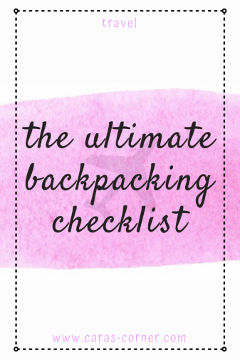 The essential backpacking packing guide