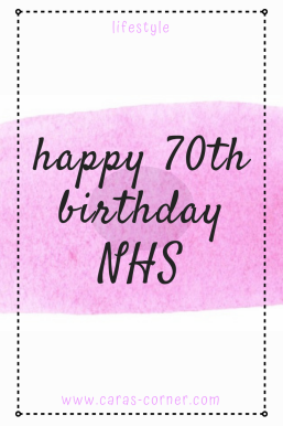 Happy birthday NHS