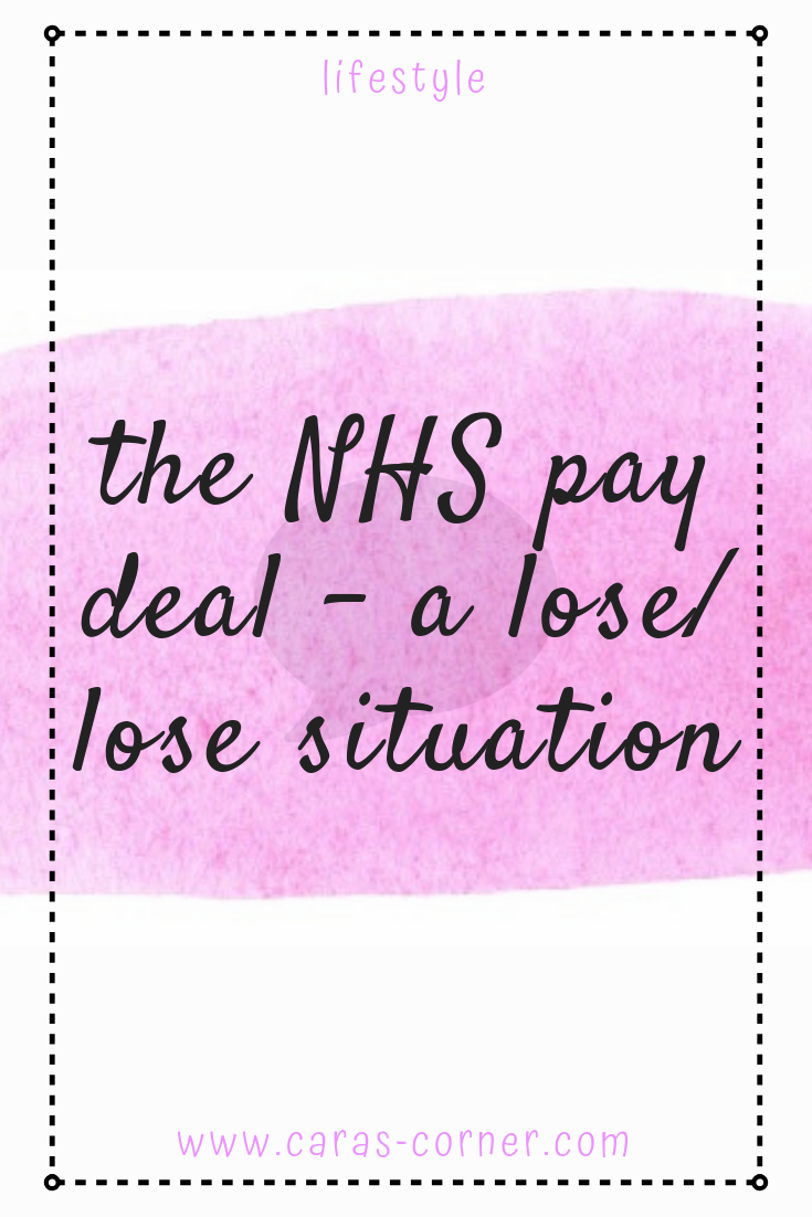 The NHS pay deal - a lose/lose situation