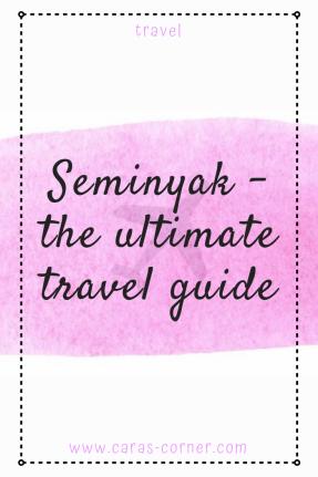 Seminyak travel guide