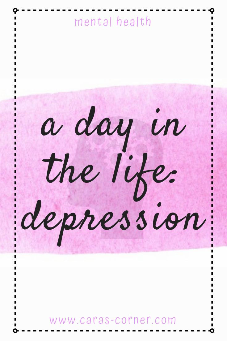 How does it feel to be depressed for a day?