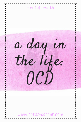 What does it feel like to have OCD (obsessive compulsive disorder)