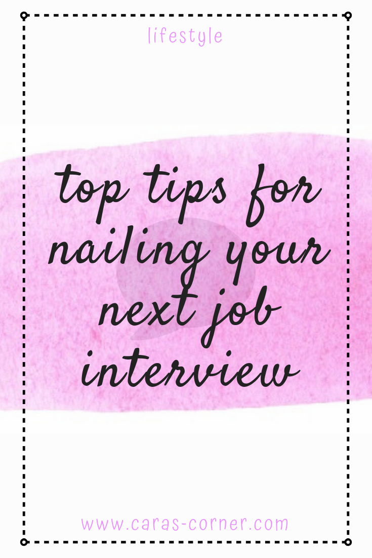 Top tips for being successful at your next job interview