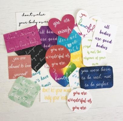 body positivity stickers