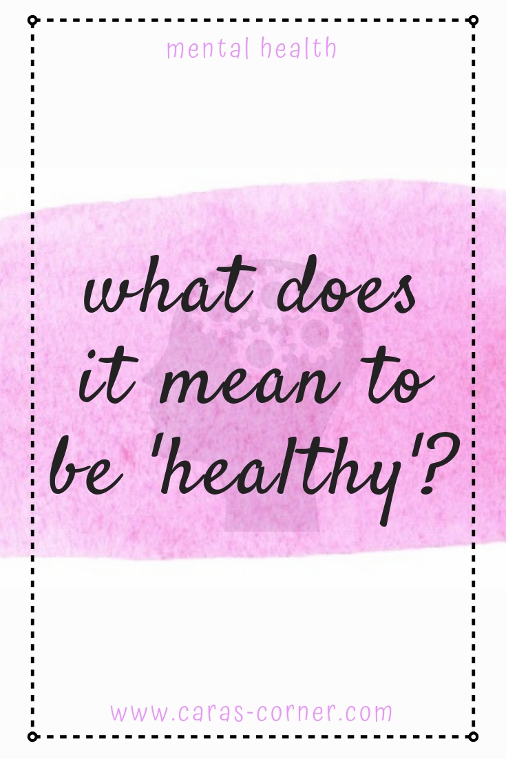 What does it mean to be healthy? Eating disorders come in all shapes and sizes and being healthy doesn't mean restriction.