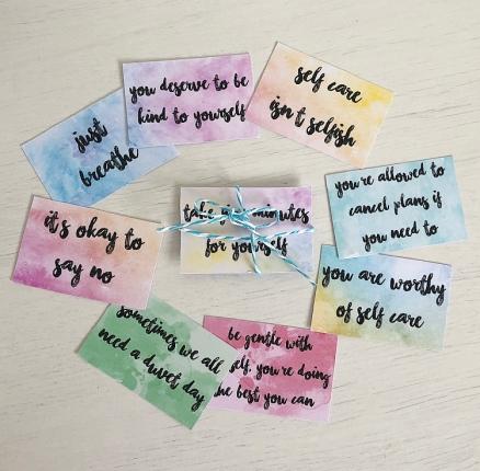 self care cards