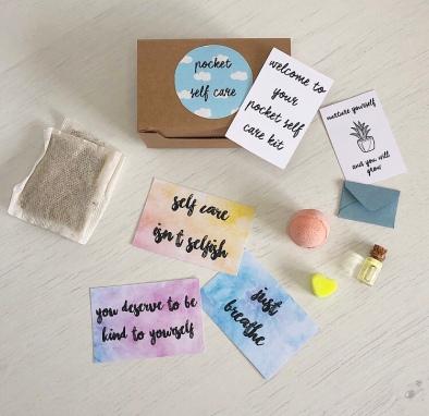Pocket self care kit