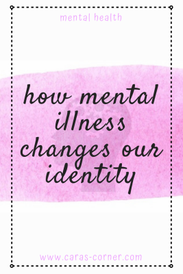 How does a mental illness diagnosis change our identity?