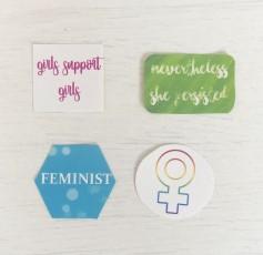 Feminist Stickers2