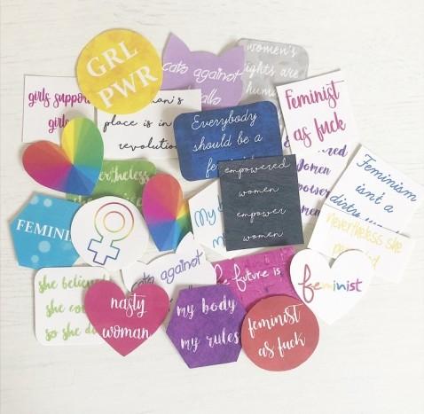Feminist Stickers3