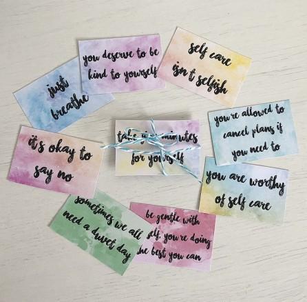 Self Care Cards1