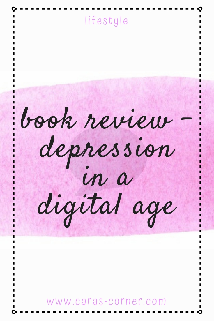 Book review - depression in a digital age by Fiona Thomas