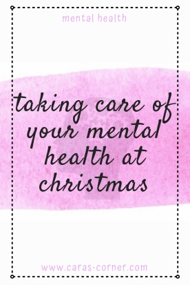How to take care of your mental health at Christmas