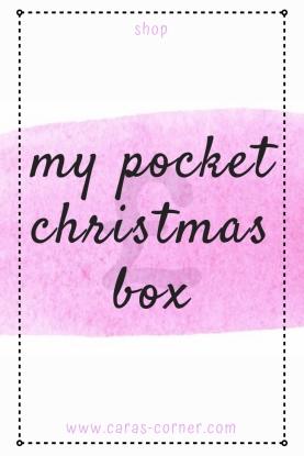 Pocket Christmas secret santa gift