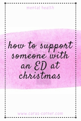 How to support someone with an eating disorder at Christmas