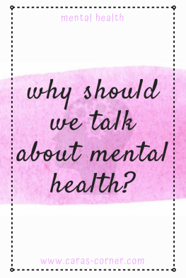 Why should we talk about mental health? Time To Talk Day 2019.