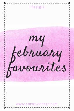 My February favourites