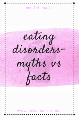 Eating disorders - myths vs facts