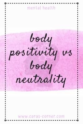 Body positivity vs body neutrality - it body positivity always a good thing?