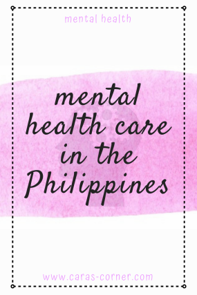 Learning about mental health care in the Philippines