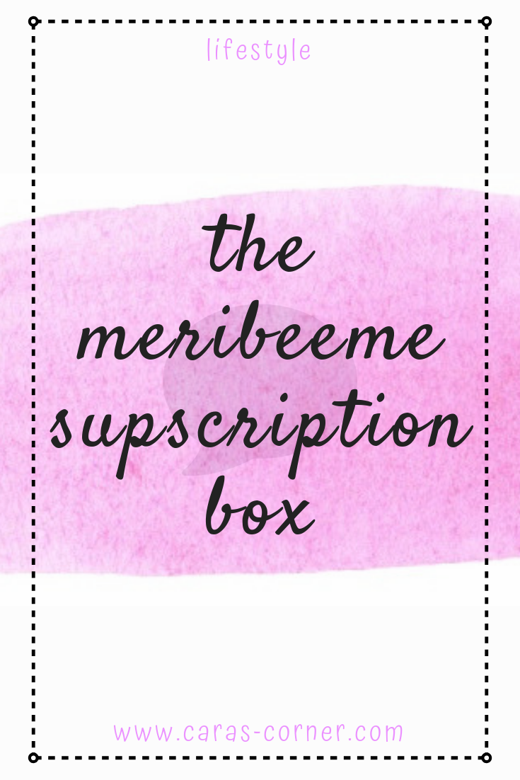 Ther MeriBee Me mental health/chronic illness craft subscription box