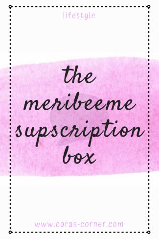 Ther MeriBee Me mental health/chronic illness craft subscription box