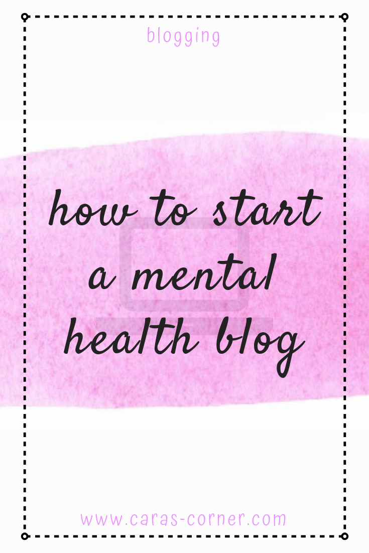 How to start a mental health blog - top tips and advice